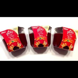 Cozy cider sipping candles limited edition glade